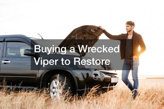 Buying a Wrecked Viper to Restore