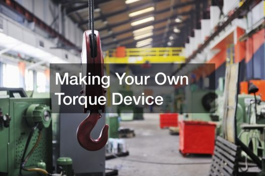 Making Your Own Torque Device